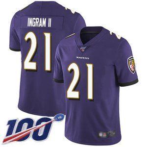 Baltimore Ravens Mark Ingram 100th Season Jersey